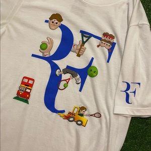Nike Roger Federer RF Emoji DRI-FIT Tennis Shirt